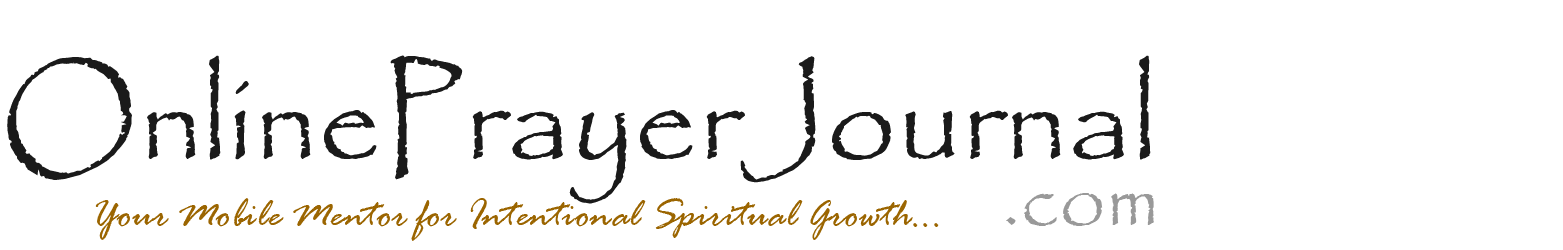 Online Prayer Journal